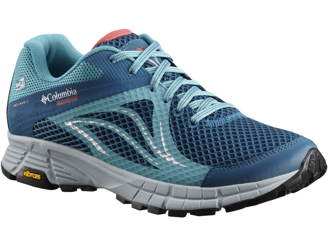 Columbia Mojave Trail II Outdry Chaussures Femme, phoenix blue/sunset red